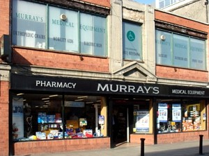 Murray's Pharmacy, Dublin City Centre - just one of many satisfied customers of Pace Electrical, Dublin, Ireland